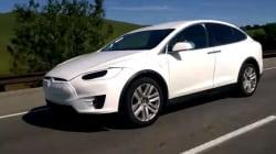 La Tesla Model X aperçue en