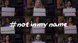 In piedi e uniti #notinmyname. Il flashmob contro il terrorismo parte da Mogliano