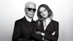 La nouvelle muse de Karl Lagerfeld, c'est