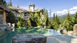 Damn, Whistler Chalet's Infinity Pool Has Quite The