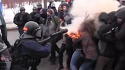 First She Took Tear Gas To The Face. Then She Was Mocked