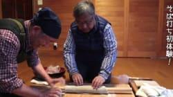 初めてのそば打ち体験 カリフォルニア州から来たアメリカ人一家が味わう日本の家庭料理