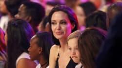 Dopo la rimozione delle ovaie, Angelina Jolie torna in