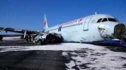 A320 à Halifax: «un écrasement d'avion et pas un atterrissage