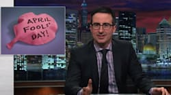 John Oliver: April Fool's Day Is 'Awful' And You Should Not Do