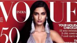 Sonam Kapoor Is Vogue India's Cover