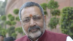 BJP Minister Giriraj Singh Says He 'Regrets' Hurting Sonia, Rahul With His Racist