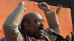 Amit Shah Scolds Giriraj Singh For Racist Remarks About Sonia