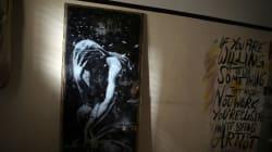 バンクシーがガザに残した絵、2万円で売却される 持ち主「だまされた」【画像】