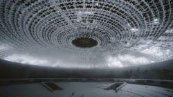 Il monumento comunista sembra un ufo arenato in Antartide