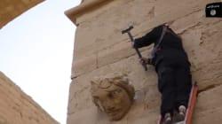 ダーイシュ(イスラム国)、ハトラ遺跡の「破壊」映像をYouTubeに公開【画像】