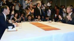菅義偉官房長官、沖縄県知事と会談したが物別れ 翁長氏「日本政治の堕落ではないか」