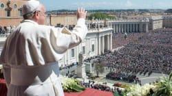 La Pasqua di Francesco in un clima già giubilare, ma non di