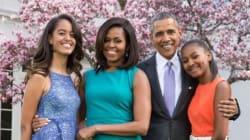 Michelle Obama et la famille présidentielle étaient incroyablement chics pour Pâques.