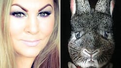 LOOK: This Woman's Makeup Transformation Into The Easter Bunny Is