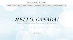 Michael Kors ouvre une boutique en ligne au