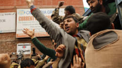 Srinagar: JKLF Supporters Protest Against Separate Enclaves For Kashmiri