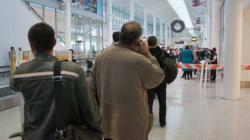 Maîtrisé grâce à un pistolet électrique à l'aéroport de Toronto