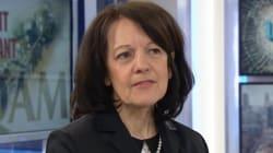 Carolle Simard, la présidente du syndicat des professeurs de l'UQAM,