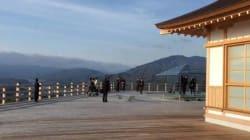 これぞパワースポット「京都・将軍塚青龍殿-ガラスの茶室-」