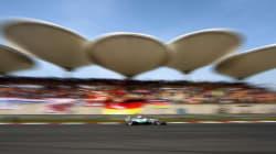 GP de Chine : Les deux pilotes Mercedes sur la première