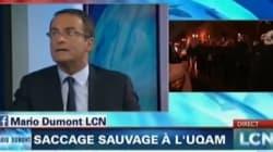 Jean Lapierre s'excuse pour ses «gros mots» contre les étudiants