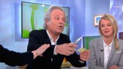 Franz-Olivier Giesbert coupe sa carte de presse dans