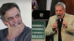2018: Aécio e Lula empatados em sondagem presidencial, diz