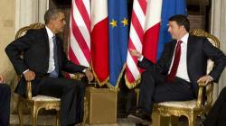 Renzi offre a Obama la possibilità di prolungare l'impegno italiano in