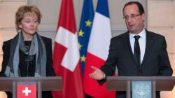 Hollande en Suisse pour une visite de