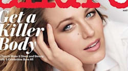 Blake Lively Shows Off Post-Baby Glow On Cover Of