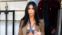 Kim Kardashian Makes The Canadian Tuxedo