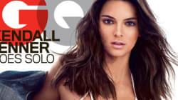 Kendall Jenner pose en bikini en Une du GQ américain du mois de mai: