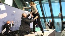 Le président de la BCE victime d'une attaque de