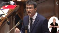 Impôts locaux: Manuel Valls accuse la droite de