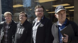 'Trailer Park Boys' Protest Outside N.S.
