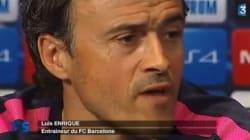Un peu (trop) de couleur dans la traduction du coach du Barça par France