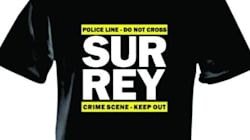 T-Shirts Spoof Surrey Mayor's Crime