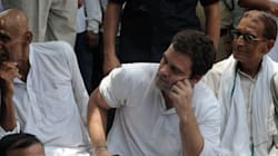 Rahul Gandhi Meets With Farmers Ahead Of Kisan