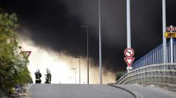 L'incendie géant à La Courneuve ne sera pas éteint avant