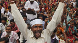 Congress Launches Zameen Wapsi