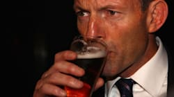 Tony Abbott Caught On Video Downing Beer In Only 7