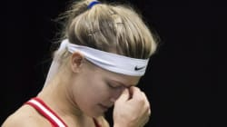 Eugenie Bouchard s'incline à la Fed