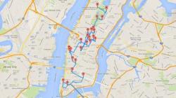 La visite idéale de New York calculée par un