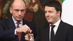 La sfida di Letta a Renzi: un'altra