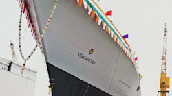 Indian Navy's New Stealth Destroyer 'Visakhapatnam'