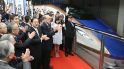 Record de vitesse pour un train japonais qui atteint 603