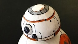 Ce droïde BB-8 de Star Wars 7 est fait
