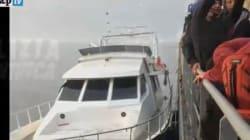 Per i migranti ricchi c'è il vecchio yacht di lusso