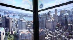 Avec une vidéo pareille, on ne voit pas passer les 102 étages de l'ascenseur du One World Trade